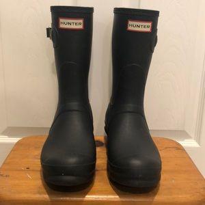 Hunter Original Short Rain Boots with Box